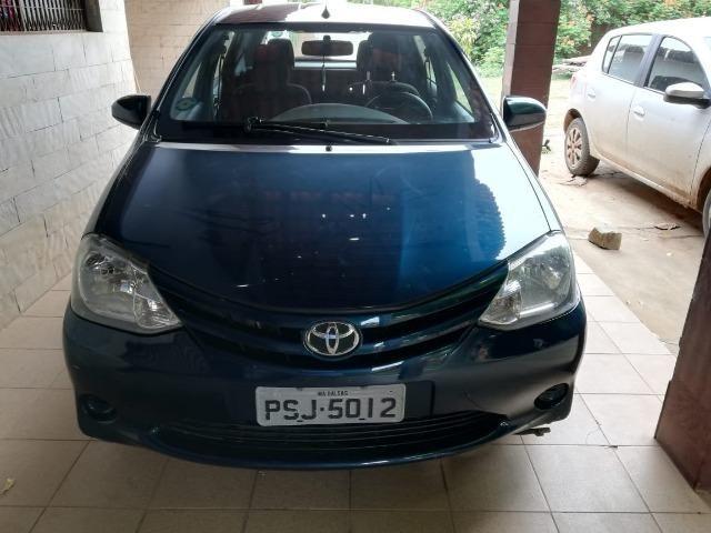 Toyota etios 1.3 ret unico dono - Foto 4