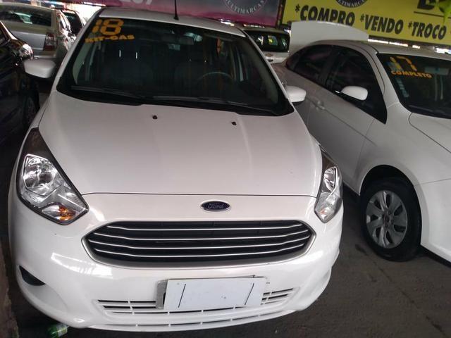 Ford Ka Hatch Completo + Gnv Ent: R$ 8.000,00 + 48x 769,00