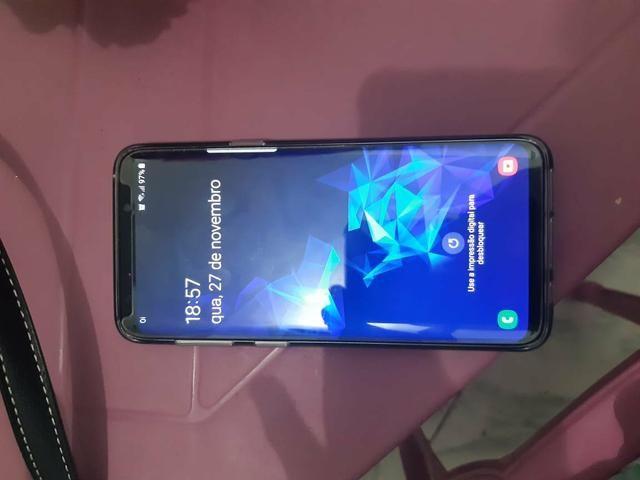 Galaxy s9 de 128 GB (aceito cartão) - Foto 2