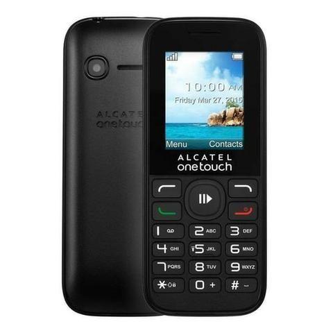 """Celular Alcatel One Touch 10.50A com Tela 1.8"""" Câmera VGA - Preto - Foto 2"""