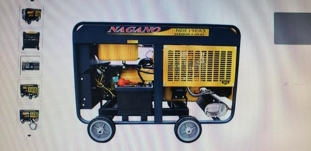 Gerador De Energia Nagano 21Kva - Foto 2
