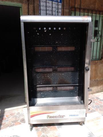 Vendo uma máquina de assar frango, mini fogão industrial