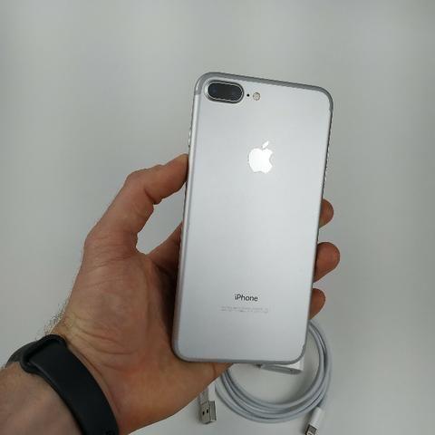 Lindo Iphone 7 plus 32GB Prata! Com Garantia - Foto 5