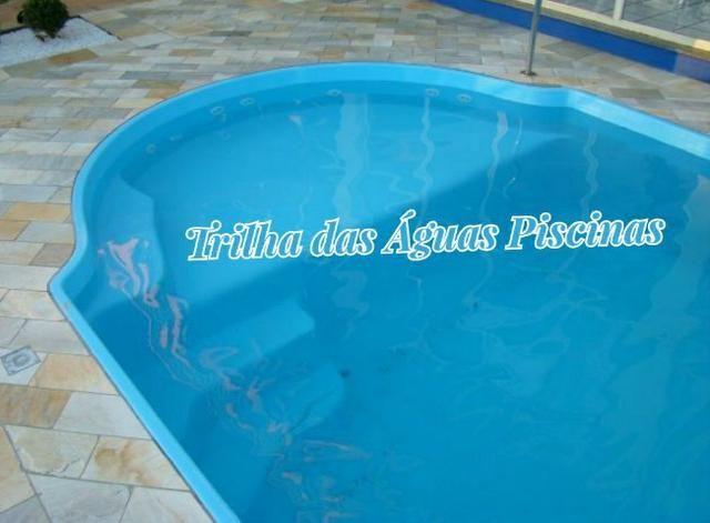 Piscina de Fibra Modelo Prainha - Foto 4
