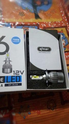 Super led 6000k por 65,00 unidade novo - Foto 2