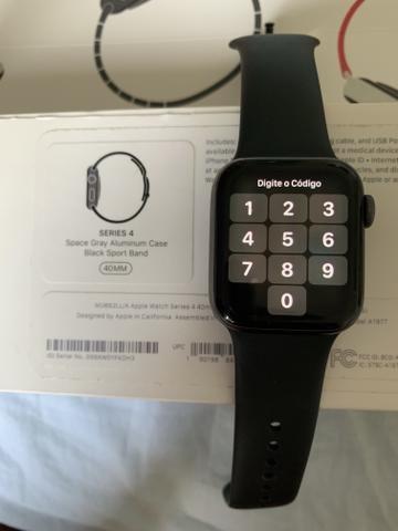 Vendo Apple Watch série 4 40mm novíssimo - Foto 6