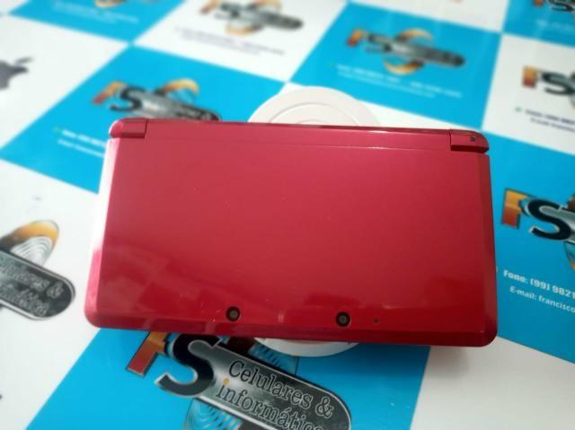 Nintendo 3ds com 5 jogos valor negociável - Foto 2