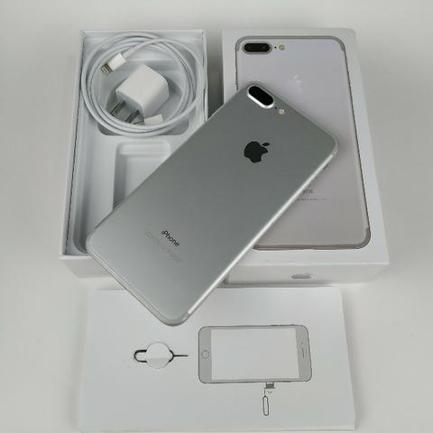 Lindo Iphone 7 plus 32GB Prata! Com Garantia - Foto 4