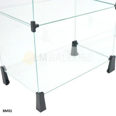 Balcao Caixa de Vidro 1,50 x 1,10 x0 ,30 Frete e Montagem gratis - Foto 4