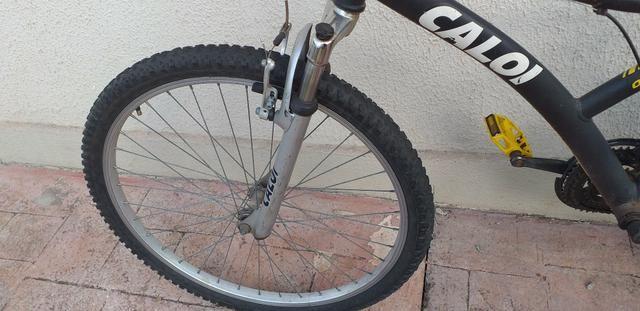 Bicicleta caloi aro 26 (PRA VENDER HOJE) - Foto 4