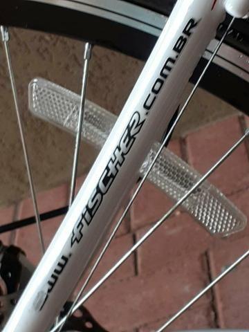 Bicicleta Fischer usada 3 meses - Foto 4