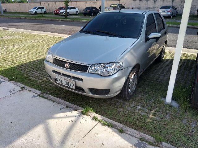Vende-se palio economy 2010 prata 4 portas flex - Foto 3