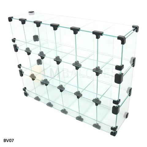 Baleiro de Vidro 0,60 x 0,45 x 0,15 Frete e montagem Gratis - Foto 3