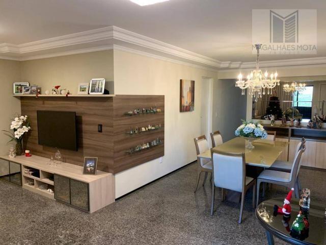 Apartamento com 3 dormitórios à venda, 127 m² por R$ 570.000 - Aldeota - Fortaleza/CE - Foto 5