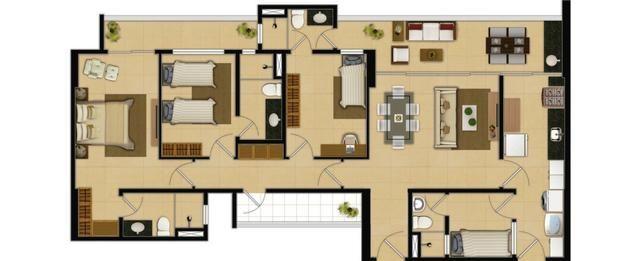 Marbella Home Club, Novo, 110m2, 3 Suítes, DCE, 2 Vagas e Lazer Completo - Foto 18