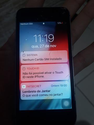 IPhone 5s com touch sem funcionar e botão de digital