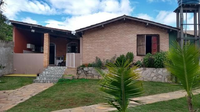 Samuel Pereira oferece: Casa Mansões Colorado Escriturada Churrasqueira 3 Quartos 1 Suite