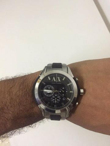 Armani Exchange Relógio AX1214 Prata - Bijouterias, relógios e ... 4da1ef966a