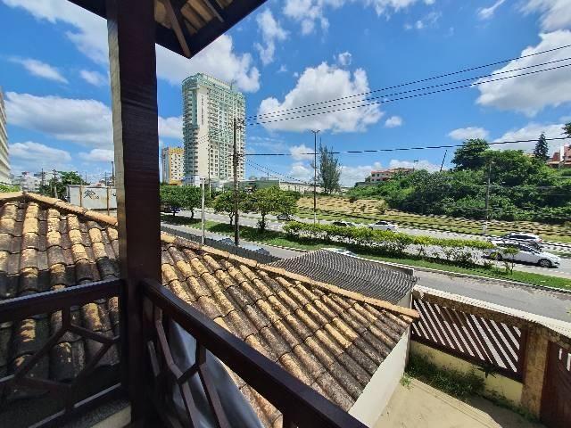 Casa duplex espaçosa de frente pra Rodovia 3 quartos churrasqueira  - Foto 4