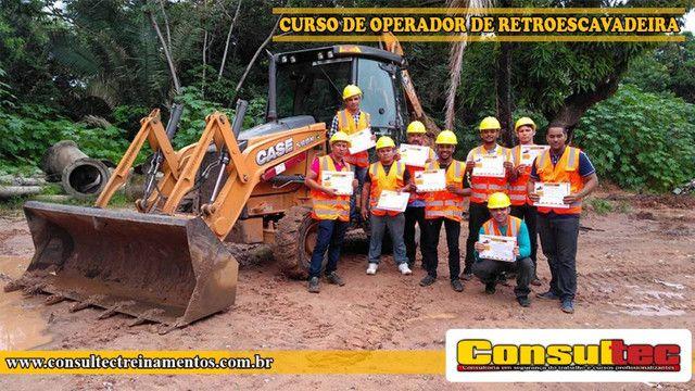 Curso de Operador de Retroescavadeira R$ 400,00 Inicio 23-11-2020 - Foto 2