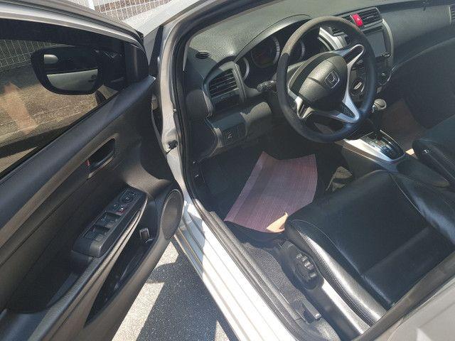 Honda City DX 2012 auto. Gnv 5 geração  - Foto 6