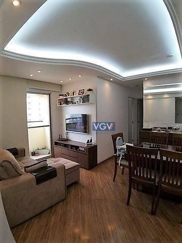 Apartamento com 2 dormitórios à venda, 54 m² por R$ 389.000,00 - Vila das Mercês - São Pau - Foto 3