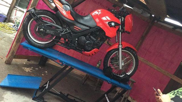 Elevador para motos 350 kg fábrica 24horas zap - Foto 8