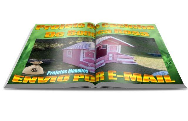 Projeto para construir uma casinha de boneca - Foto 4