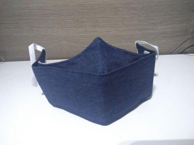 Máscara em 3D, Tecido Tricoline com Dupla Camada, R$: 8,00 Reais a unidade. - Foto 5