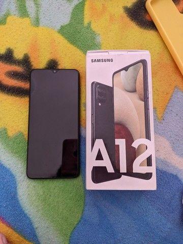 Samsung A12 SEMI NOVO(1 MÊS DE USO) - Foto 4