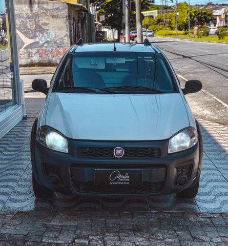 Fiat Strada Working CS 1.4 Flex 2015 IPVA 2021 PAGO!!! - Foto 2