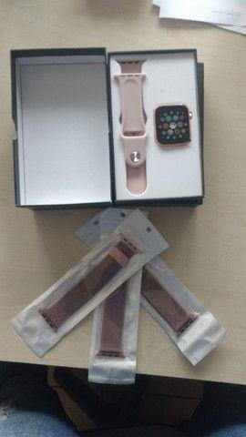 Smartwatch x7 - Troca foto, faz e atende chamadas - Foto 4
