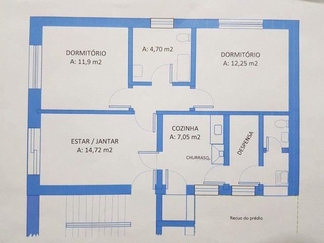 Ap 2 quartos, com churrasqueira, próx. Parcão do Moinhos de Vento  - Foto 9