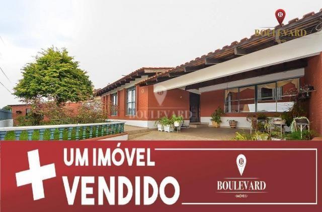 Casa térrea, com 2 dormitórios à venda, 169 m² por R$ 520.000 - Capão da Imbuia - Curitiba