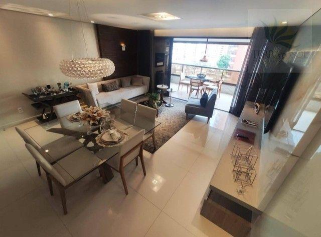 Apartamento com 3 dormitórios à venda, 162 m² por R$ 1.490.000,00 - Aldeota - Fortaleza/CE - Foto 5