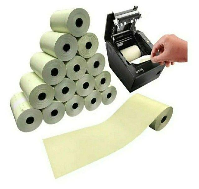 Bobina térmica para impressoras fiscais e não fiscais