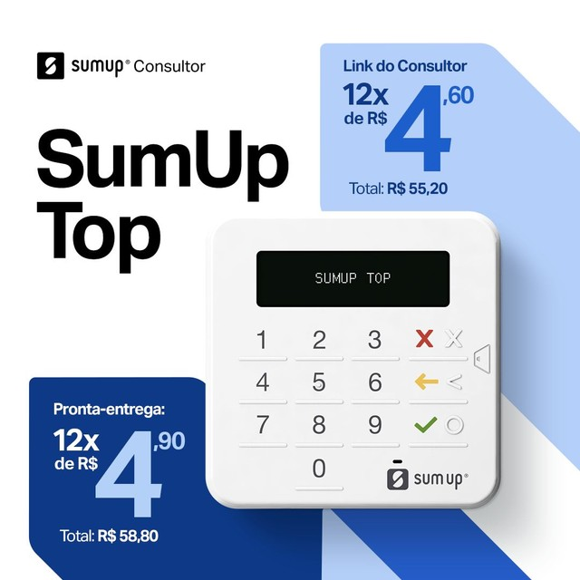 Oferta máquina sumup top de 58.80 por 39.90