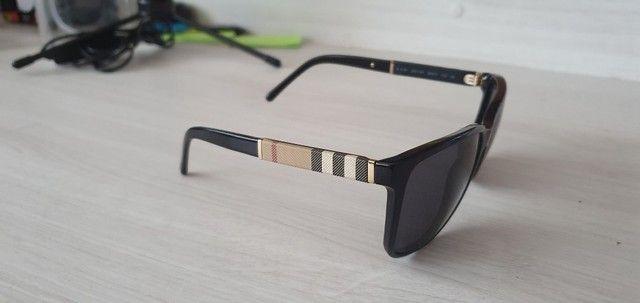 Óculos de Sol Burberry Quadrado BE4181 Masculino - Preto