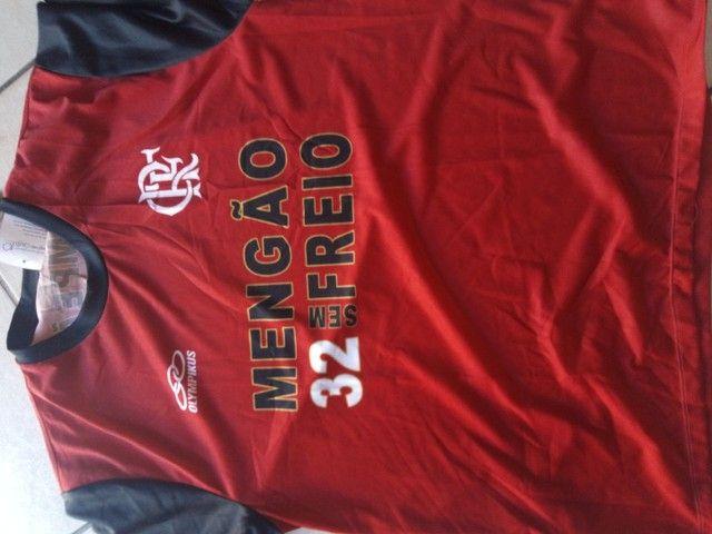 Camisa oficial flamengo retrô gg