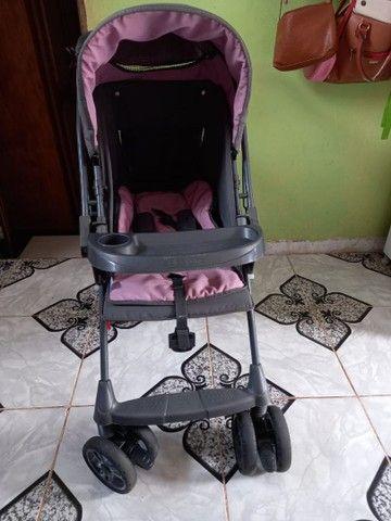 Carrinho de bebê feminino - Foto 4