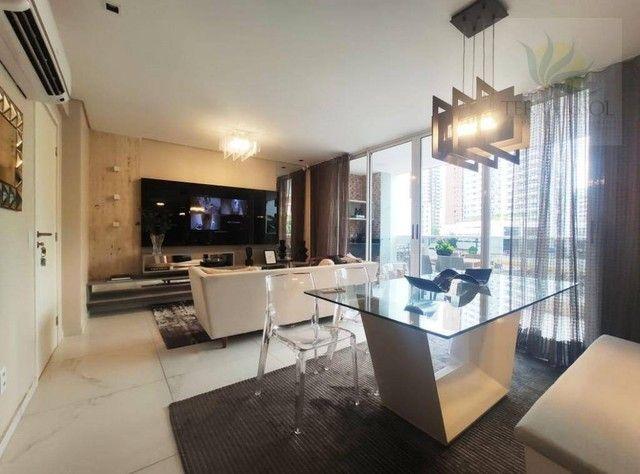 Apartamento com 3 dormitórios à venda, 127 m² por R$ 1.273.818 - Aldeota - Fortaleza/CE - Foto 4
