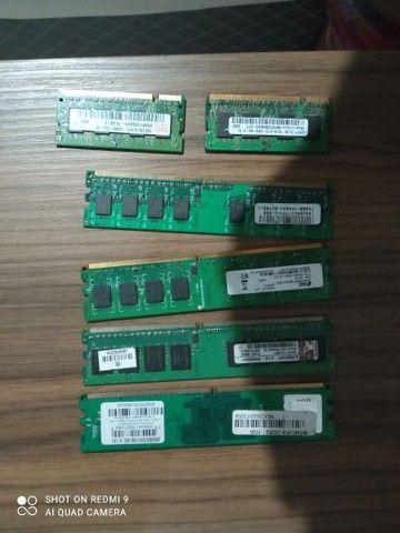 Vendo memórias ram DDR2