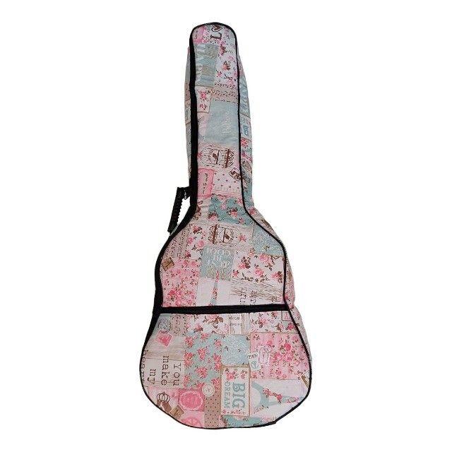 Capa para violão clássico ou folk - Foto 2