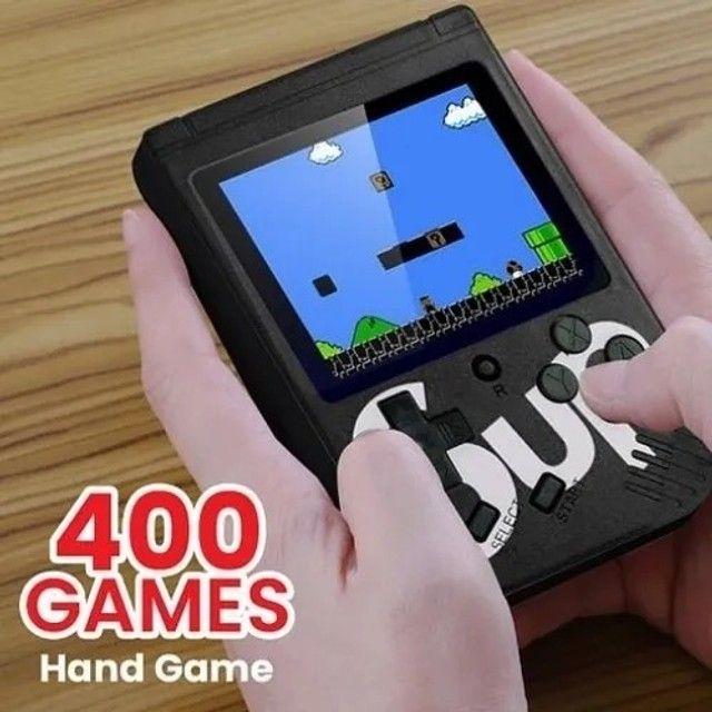 Mini Game 400 Jogos Retrô Vídeo Game Sup Portátil (Preço de Olx Pay)