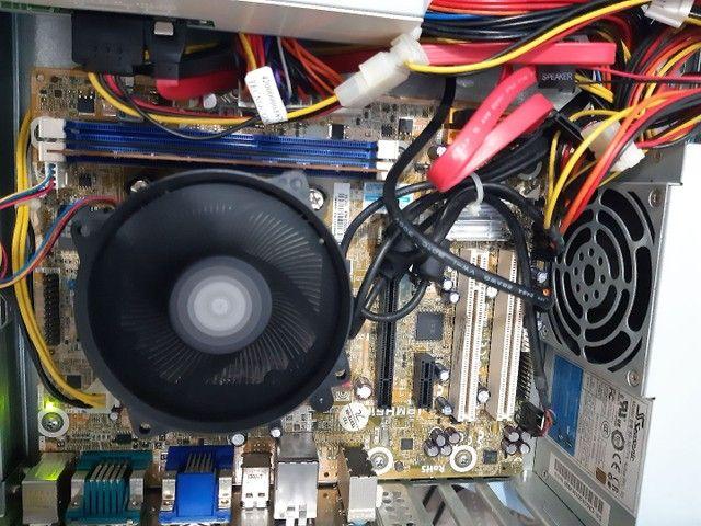 Vendo computador i5-3330 3.20ghz Monitor 20 polegadas HD500GB 4GB Windows 10 - Foto 2