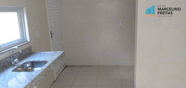 Casa com 3 dormitórios para alugar, 104 m² por R$ 1.109,00/mês - Lagoinha - Eusébio/CE - Foto 13