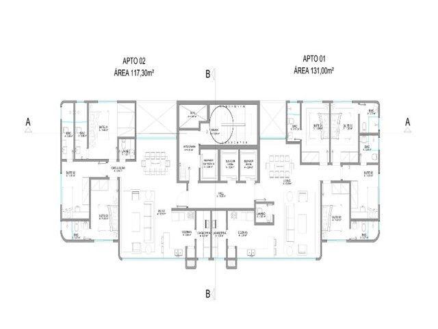 Apartamento em construção, 03 suítes, piscina, varanda, 03 vagas de garagem privativas, Ba - Foto 19
