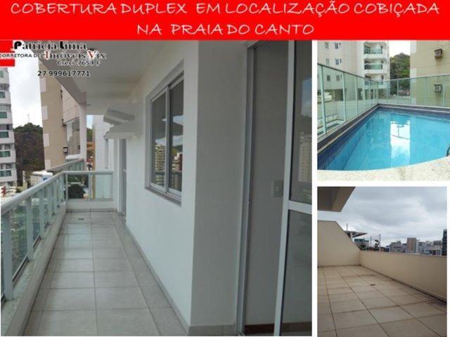 Excelente Cobertura Duplex - Praia do Canto-PL0272