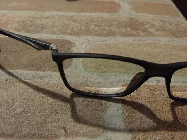 ebe7c7c5e Armação nova masculino grande grau óculos suporta qqer lente retirar Alto  Boqueirão - Foto 3