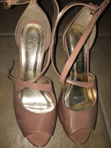 391f9ee80 Sapato Festa - Regina Rios - Nude Rose - 35 - Roupas e calçados ...